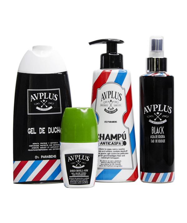 puertos Kit - champú, gel de ducha, desodorante y colonia
