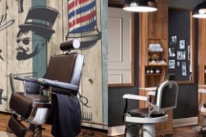 barbería, sillón de barbero
